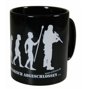 "Tasse ""Evolution"" schwarz - Nr. 5080"