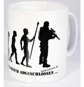 "Tasse ""Evolution"" weiß - Nr. 5081"