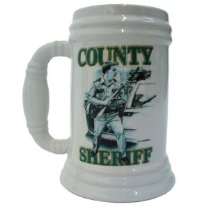 "Dick Kramer Bierkrug ""County Sheriff"" - 500 ml - Nr. 7880"