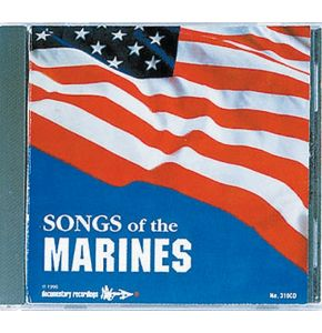 Songs of the Marines - CD´s Original aus den USA - Nr. CD1980