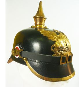 Pickelhaube Baden- Originalgetreue Reproduktion