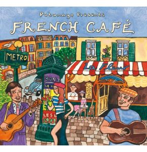 CD French Cafe -  französische Chansons / Instrumental - Nr. LE4056