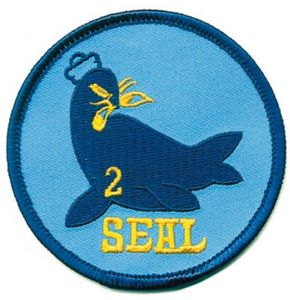 SEAL TEAM TWO Aufnäher - Nr. NV4819