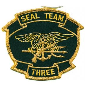 SEAL TEAM THREE Aufnäher - Nr. NV4820