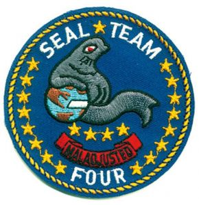 SEAL TEAM FOUR Aufnäher - Nr. NV4821