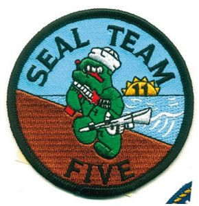 SEAL TEAM FIVE Aufnäher - Nr. NV4822
